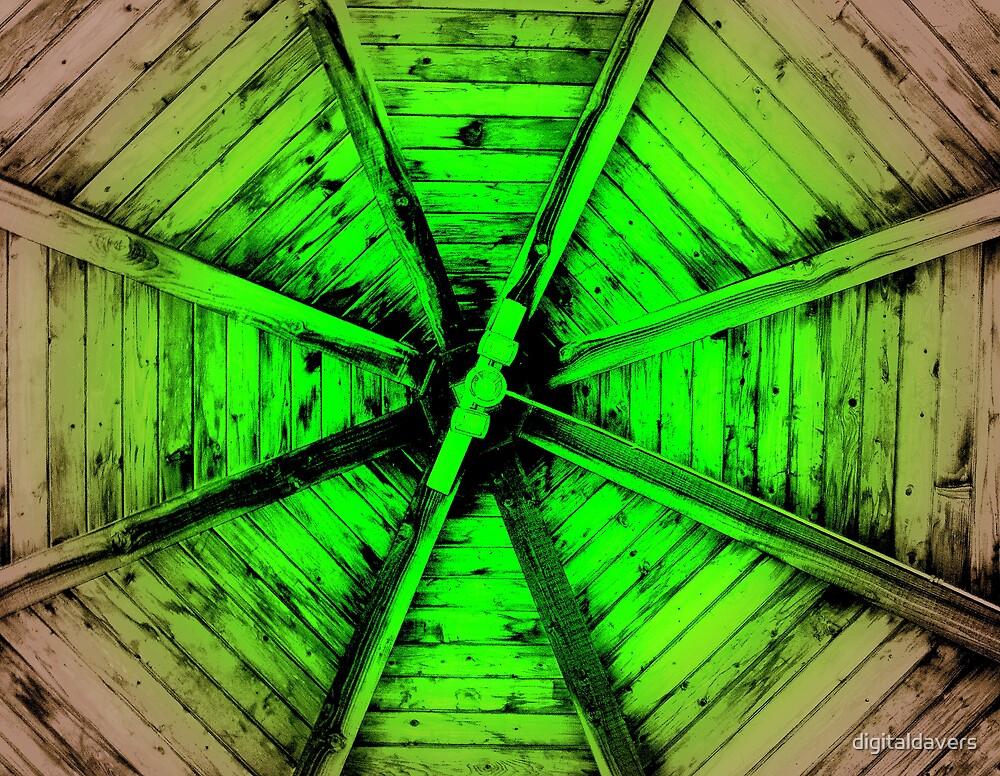 Wheel Of Green by digitaldavers