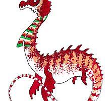 Christmas Plesiosaur by Zagreus