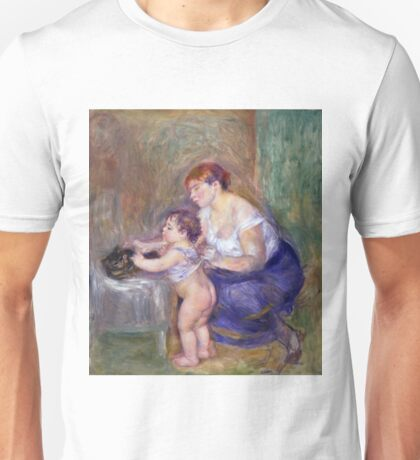 Auguste Renoir - Mother And Child, 1895 Unisex T-Shirt