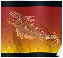 Plasma Dragon Poster