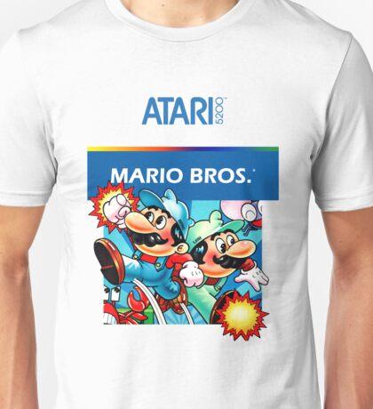 Atari 5200 - Mario Brothers  Unisex T-Shirt