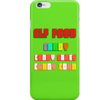 ELF FOOD iPhone Case/Skin