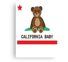 CALI BABY Canvas Print