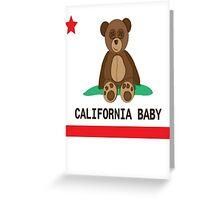 CALI BABY Greeting Card