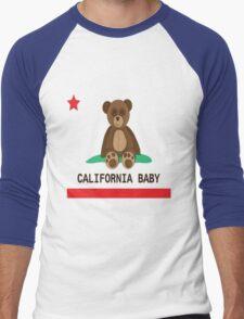 CALI BABY Men's Baseball ¾ T-Shirt