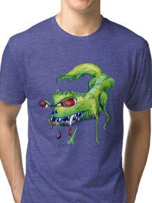 Good Kitty? Bad Kitty! Tri-blend T-Shirt