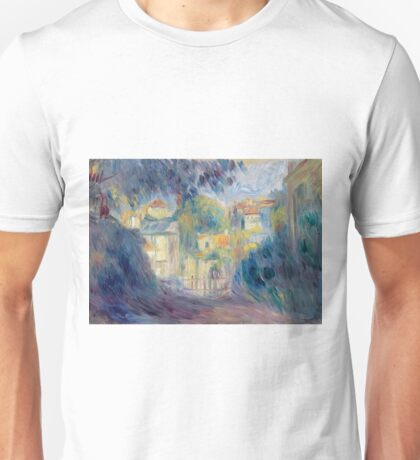 Auguste Renoir - Landscape With Red Roofs.jpeg Unisex T-Shirt