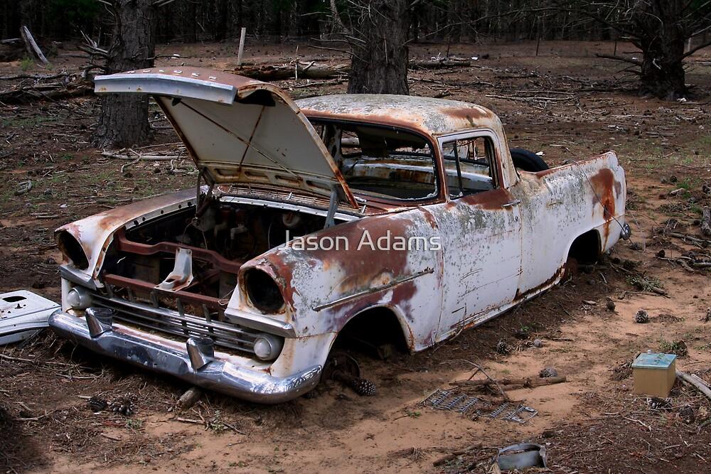 Rusty Old Girl by Jason Adams