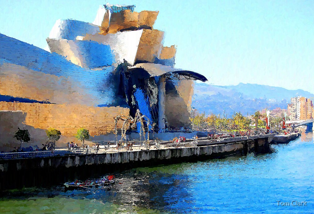 Guggenheim - Bilbao #4 by Tom Clark