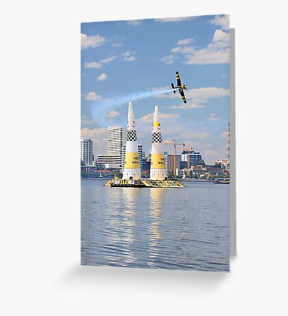 Red Bull Air Race - Perth Western Australia  Greeting Card