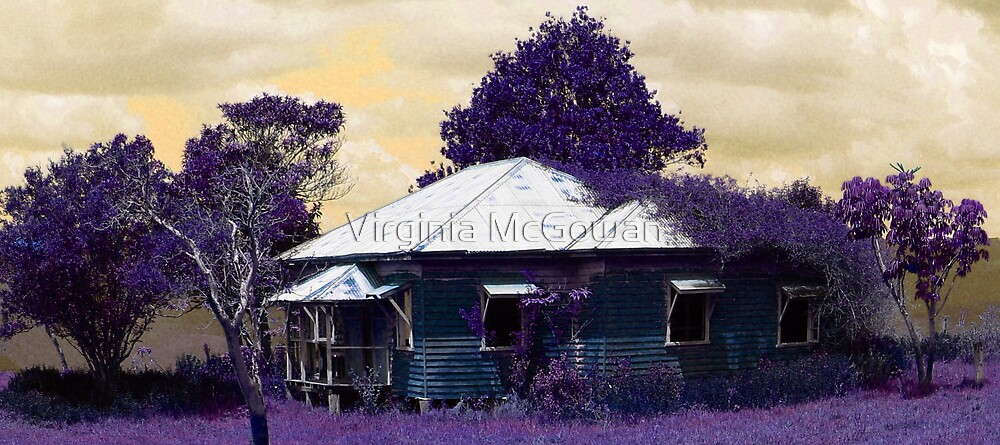 Canungra Farmhouse  by Virginia McGowan
