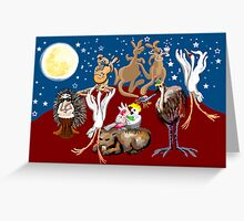 Outback party Greeting Card