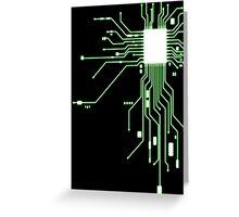 Circuitry Greeting Card