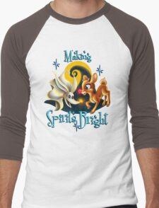 Making Spirits Bright Men's Baseball ¾ T-Shirt