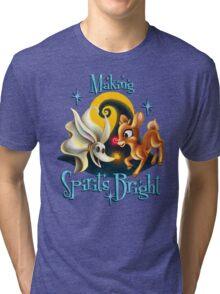 Making Spirits Bright Tri-blend T-Shirt