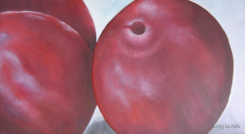 plums by cathy savels