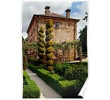 Italian Villa Poster