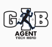 Zac Power - Agent Tech Head Baby Tee