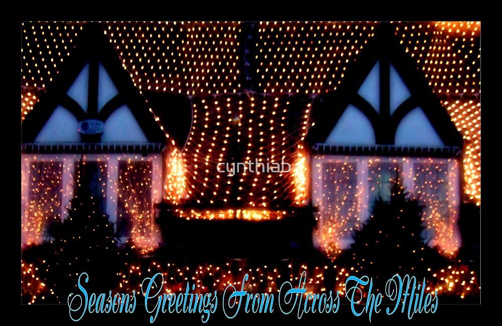 christmas card by cynthiab
