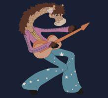 Jimmy Giraffe's Guitar One Piece - Short Sleeve