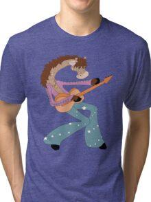 Jimmy Giraffe's Guitar Tri-blend T-Shirt