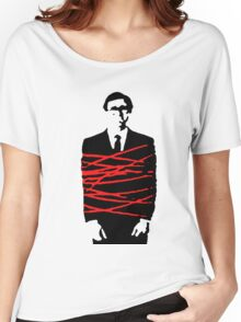 Not my business (red tape version) Women's Relaxed Fit T-Shirt