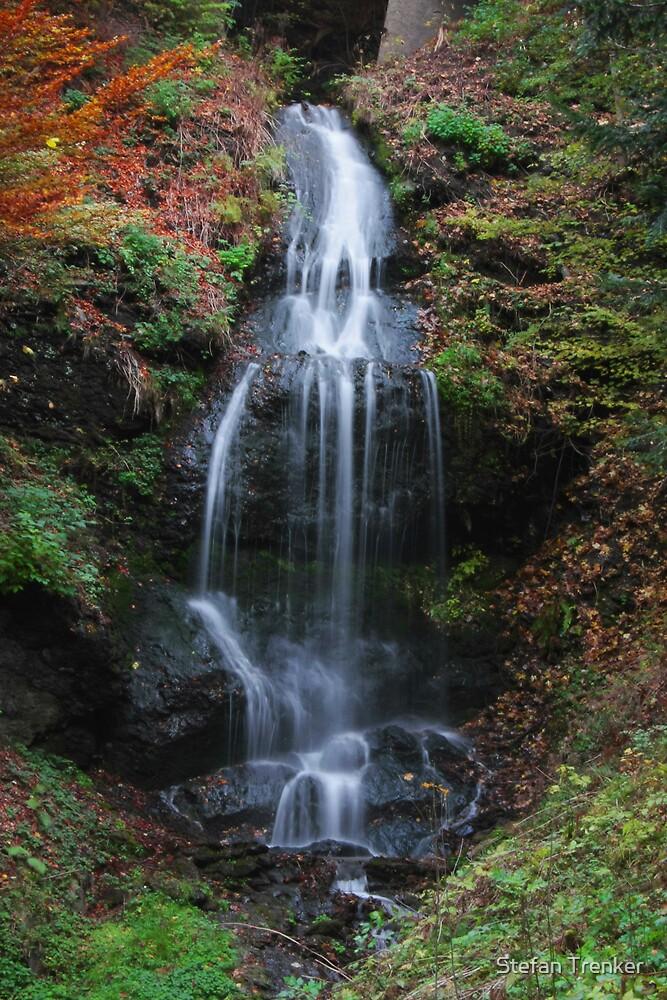 Autumn Cascade by Stefan Trenker