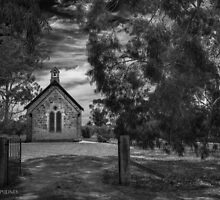 Williamstown Lutheran Church by Jan Pudney