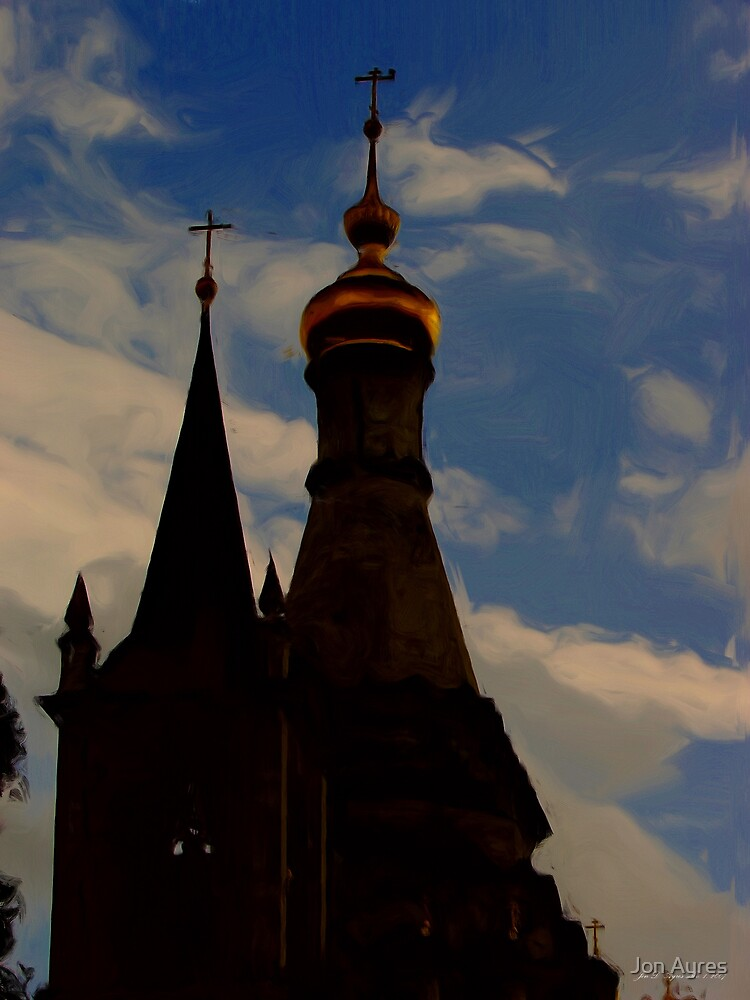 Old Russian Country Church4 by Jon Ayres