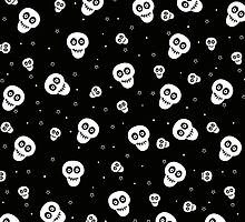 Skull and Stars  by aleha