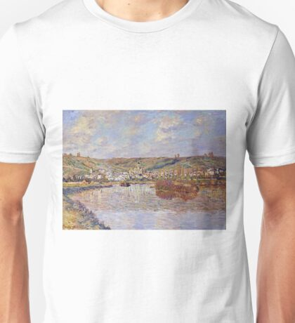 Claude Monet - End Of The Afternoon, Vetheuil Unisex T-Shirt