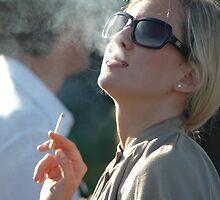 cigarette smoking by maggiori