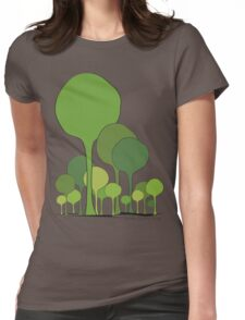 Green palette *quatre saisons series/Spring Womens Fitted T-Shirt