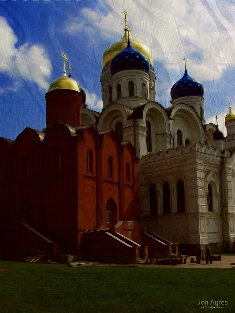 Transfiguration Cathedral in Nikolo-Ugreshsky monastery built in 1830-1904 by Jon Ayres
