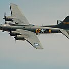 B-17 Memphis Belle replica flyby by Andy Mueller