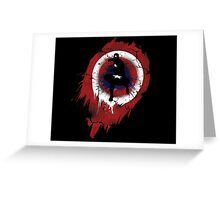Captain America The First  Avenger Greeting Card