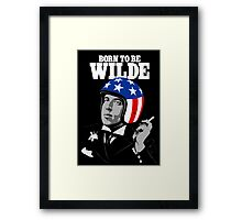 Born To Be Wilde Framed Print