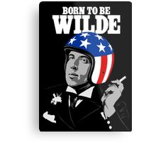 Born To Be Wilde Metal Print