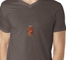 Foggy Worm Pickled Pet Mens V-Neck T-Shirt