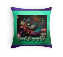 you light up my life Throw Pillow