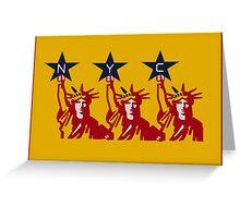 Liberty x3 Print Greeting Card