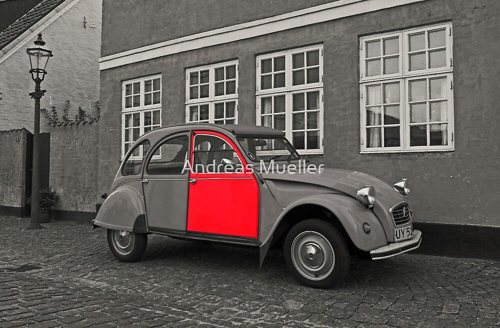Red Door by Andreas Mueller