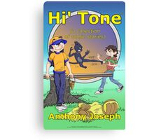 Hi' Tone Book Cover Canvas Print