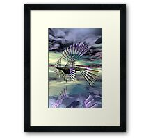 Sailing Solar Through Life Framed Print