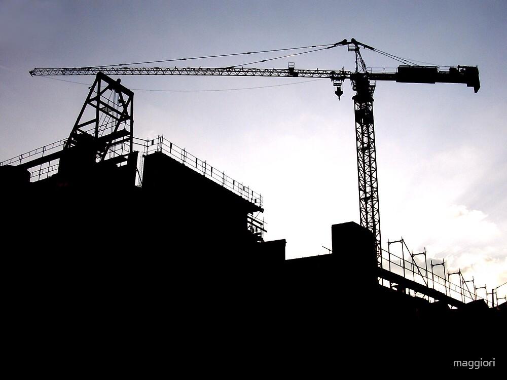 crane & sky by maggiori