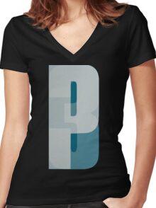 Third- Portishead Women's Fitted V-Neck T-Shirt