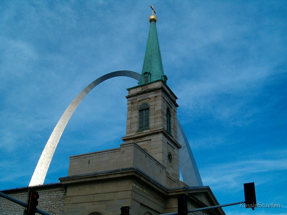 st. l arch by KassieStuefen
