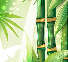 Bamboo Plants by solnoirstudios