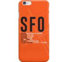 San Francisco Airport SFO iPhone Case/Skin