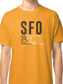 San Francisco Airport SFO Classic T-Shirt